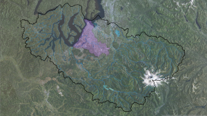 Chambers_Clover Watershed w Rivers