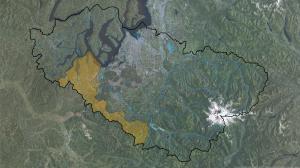 Deschutes Watershed w Rivers